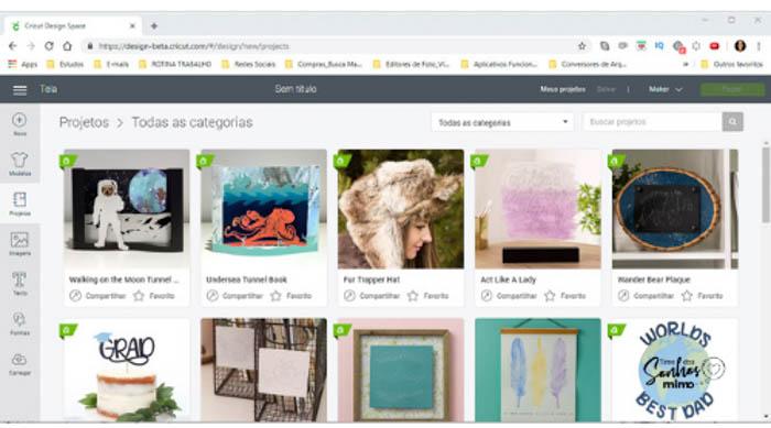 Cricut Maker ou Cricut Explore 2- Qual a Melhor Plotter de Recorte -Biblioteca de imagens