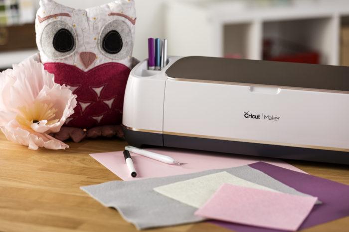 Máquina de cortar Feltro - Conheça a Cricut Maker - Máquina de cortar feltro