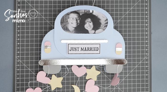 Quadro Personalizado para Recém-Casados - Arquivo Grátis - porta retrato recém-casados