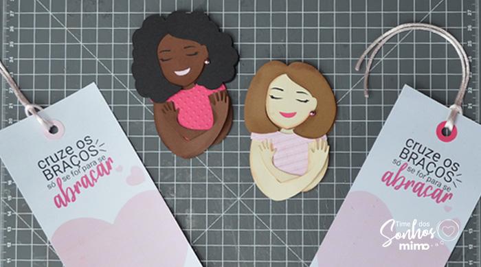 Marcador de Página Personalizado - Outubro Rosa