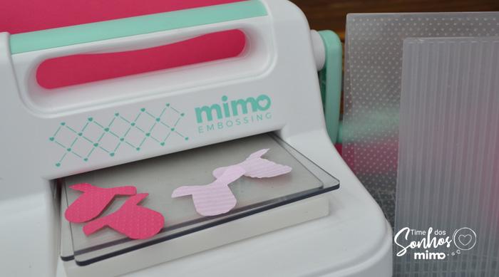 Marcador de Página Personalizado - Outubro Rosa - Mimo Embossing