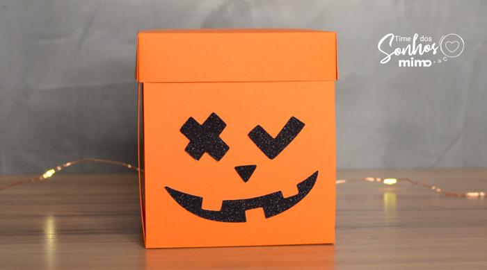 Caixa Explosiva: Como Fazer Lembrancinha de Halloween passo a passo