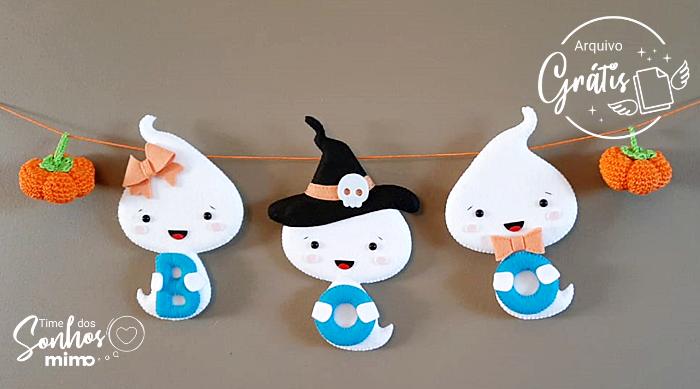 Lembrancinha de Feltro: Como Fazer Personalizado de Halloween