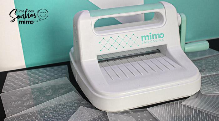 Máquina de Embossing - Como Fazer Relevo Com a Mimo Embossing