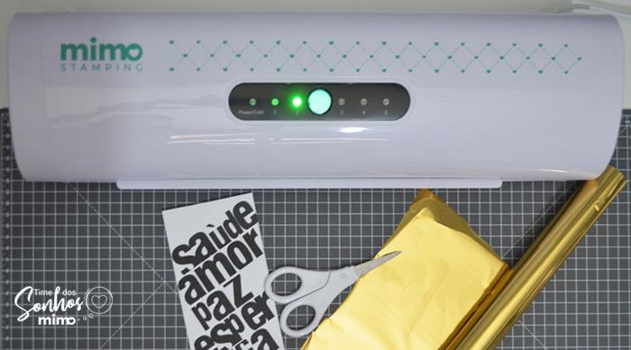 Presente de Natal: Como Fazer Caixa para Espumante - Mimo Stamping