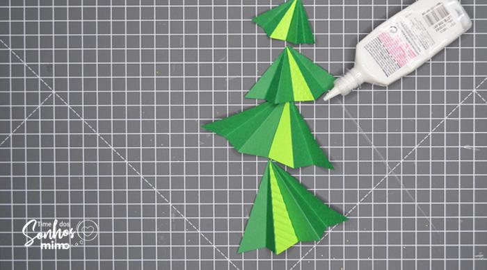 Presente de Natal: Como Fazer Caixa para Espumante - cartão de natal