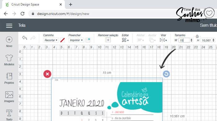 Calendário Personalizado 2020 Arquivo Grátis