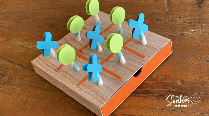 Lembrancinha dia das Crianças: Como Fazer Jogo da Velha
