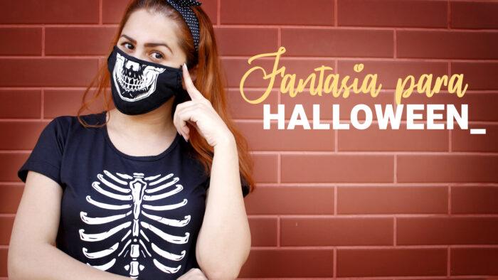 Como Fazer Fantasia de Halloween