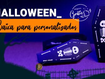Como Fazer Caixa Halloween Personalizada