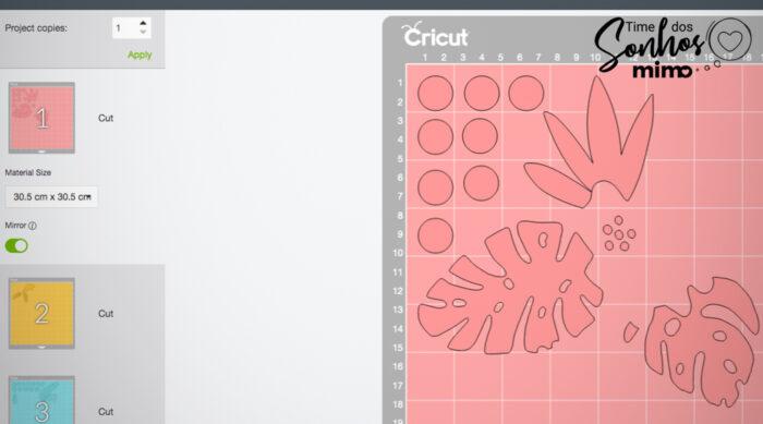 Quando estiver com tudo definido (cores; tamanho e etc), clique em Fazer