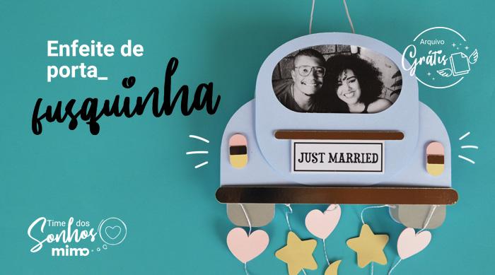 Quadro Personalizado para Recém-Casados – Arquivo Grátis