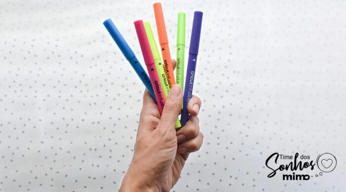 Guarde canetas sublimáticas Infusible Ink com as pontas para baixo
