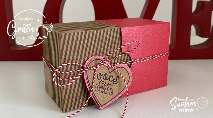 caixa de chocolate dia dos namorados