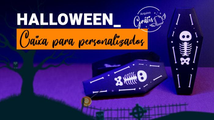 Caixa para Doces de Halloween