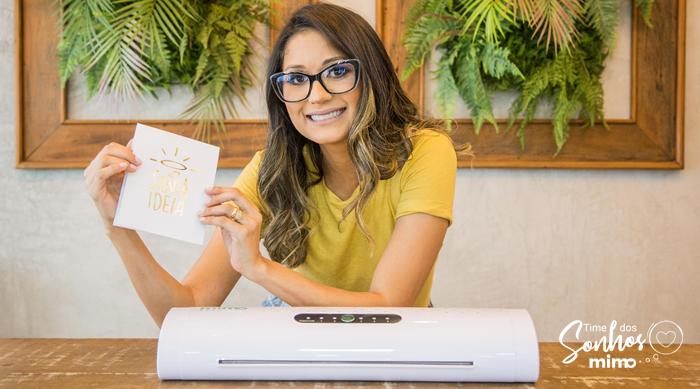 Mimo Stamping é uma máquina de fazer hot stamping