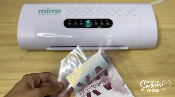 Hot Stamping feito na Mimo Stamping é de arrancar suspiros