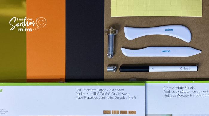 Lista de materiais para fazer Caixa para Ovo de Colher
