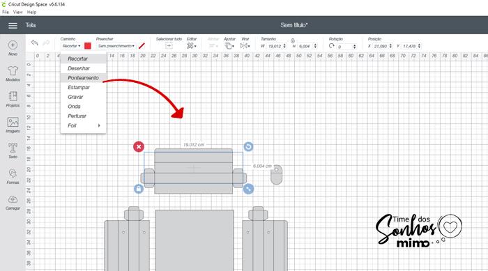 Mude as linhas internas do arquivo para ponteamento