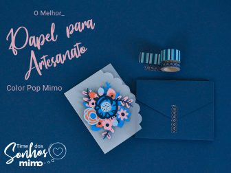 Papel para Artesanato - Color Pop Mimo