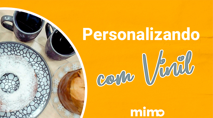 Caneca Personalizada Com Vinil Adesivo Permanente