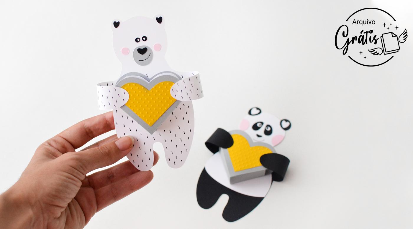 Coloque o coração na barriga dos ursos e seu projeto estará finalizado