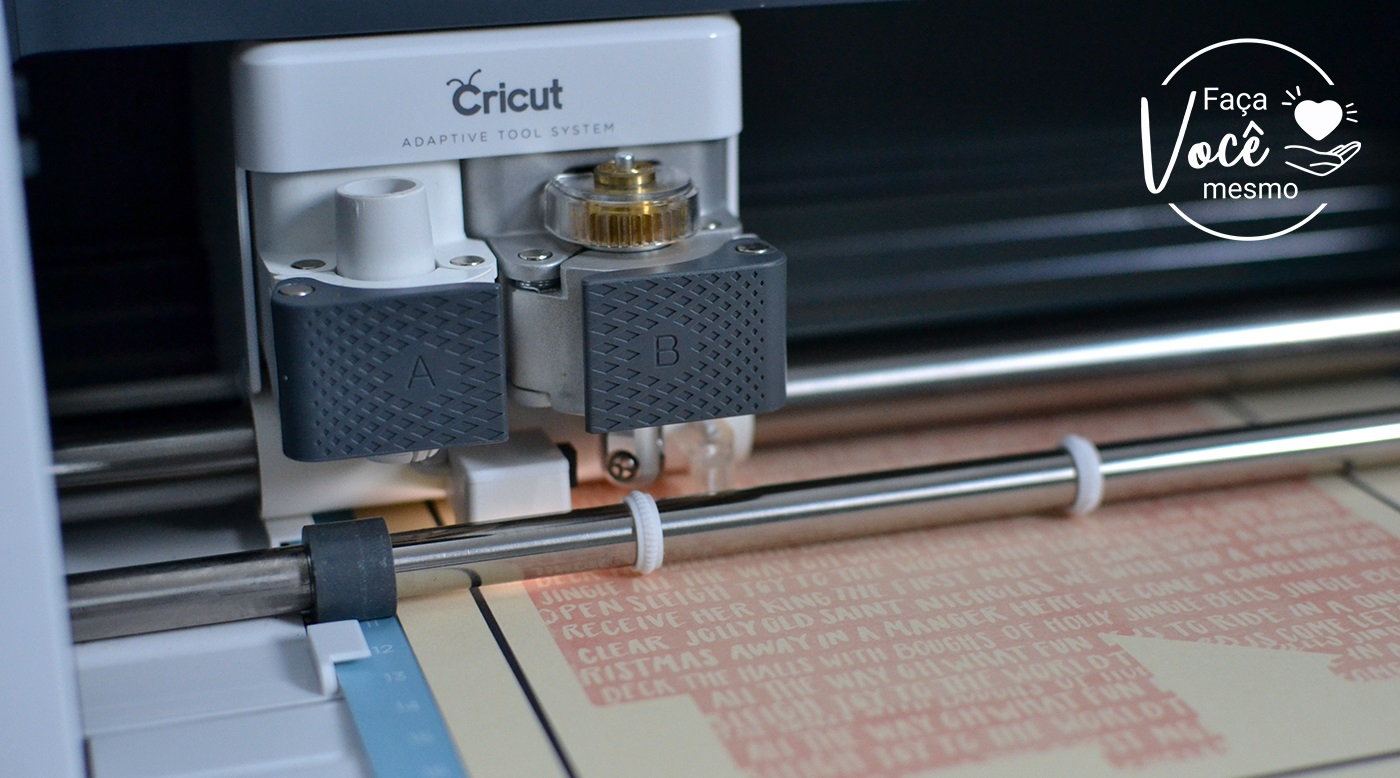 Cortando Papel Color Pop impresso na Cricut Maker