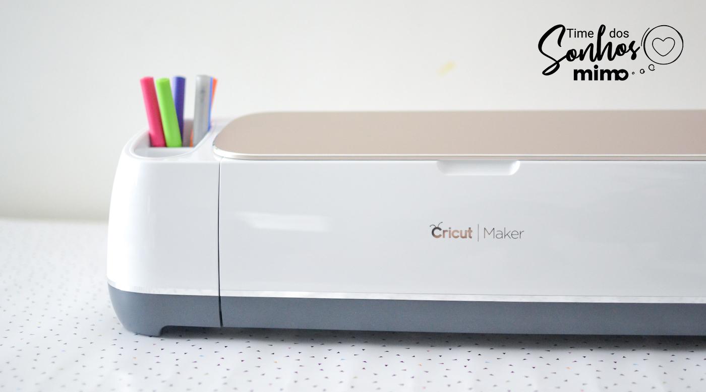 Cricut Maker - Máquina de Fazer Lembrancinhas Personalizadas