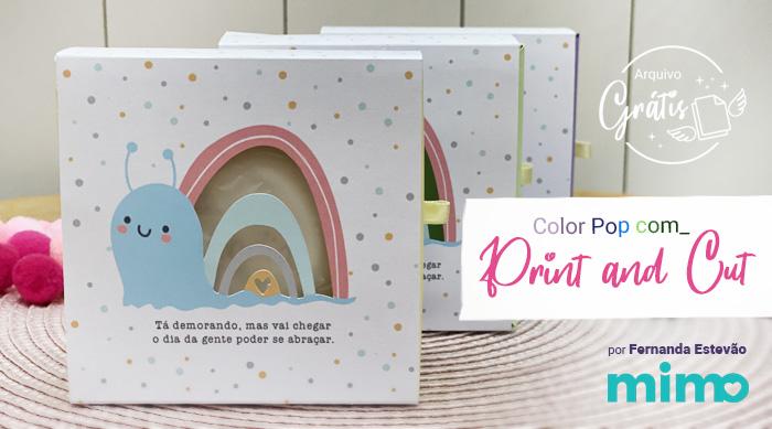 Papel para Print and Cut – Color Pop Mimo é o Melhor!