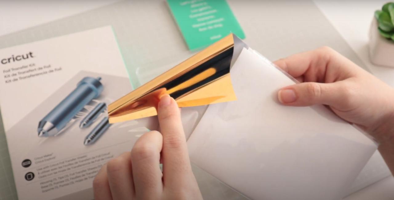 Como Aplicar Foil Sem Impressão a Laser