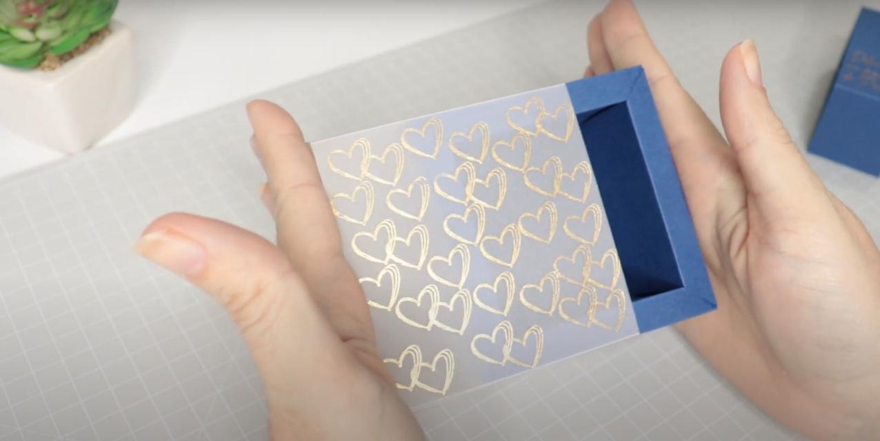 Caixinha Personalizada com Foil - Como Aplicar Foil Sem Impressão a Laser