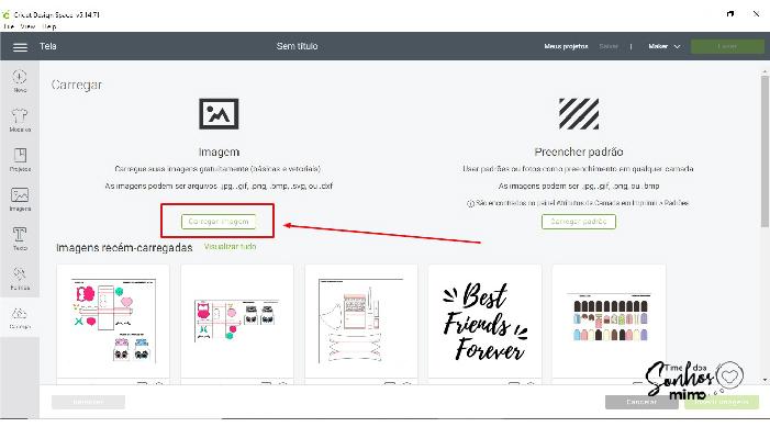 Cricut Design Space - Print and Cut com Arquivos Externos