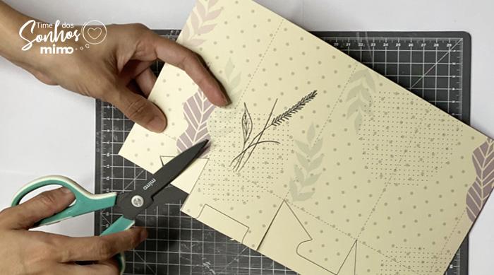 Cortando com a Tesoura Profissional Mimo - Como fazer Caixas Personalizadas com Tesoura