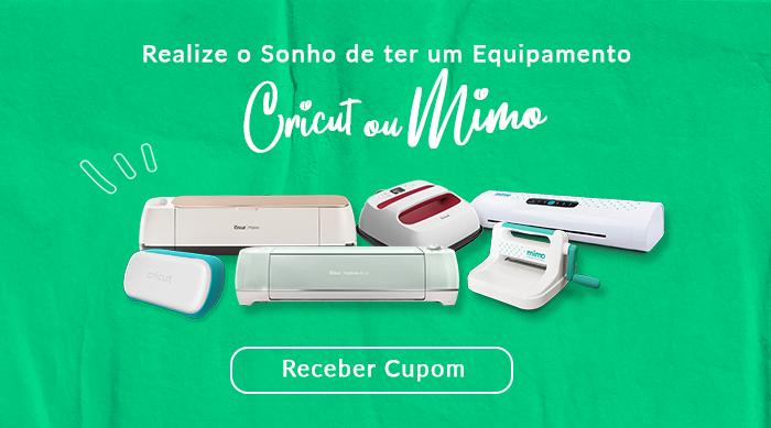 Cupom de Desconto para Comprar Cricut na Loja Mimo Crafts