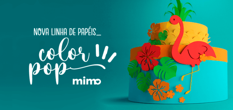 Papel Colorido Color Pop Mimo - Cricut Brasil